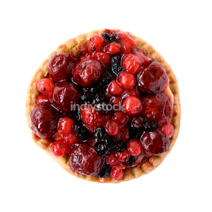 red fruits pie