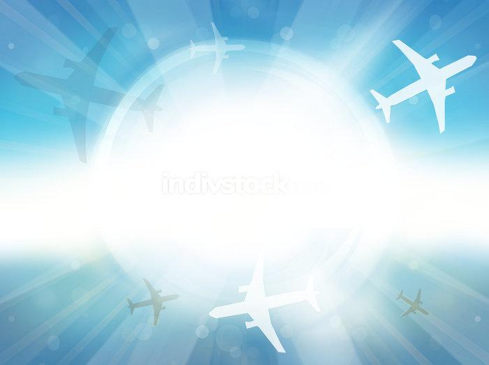 Summer Time Background Planes