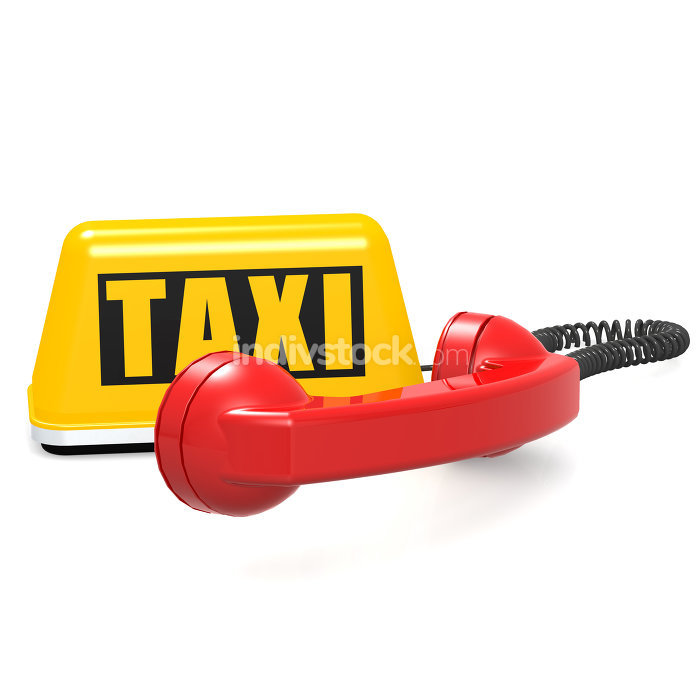 Taxi and phone