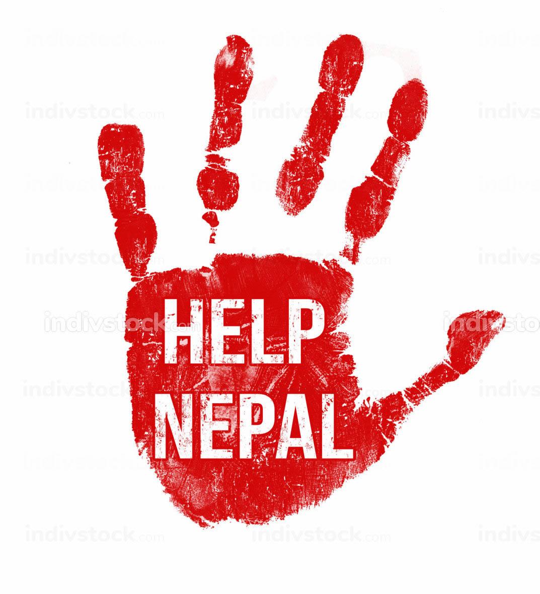Help Nepal message