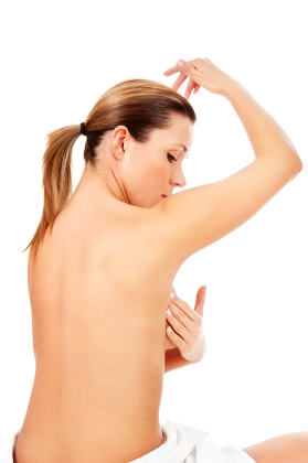 examination breasts against cancer