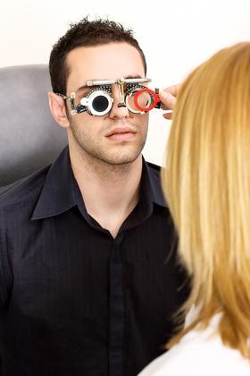 trial frame for eye testing