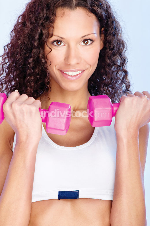 fitness exercise with weight