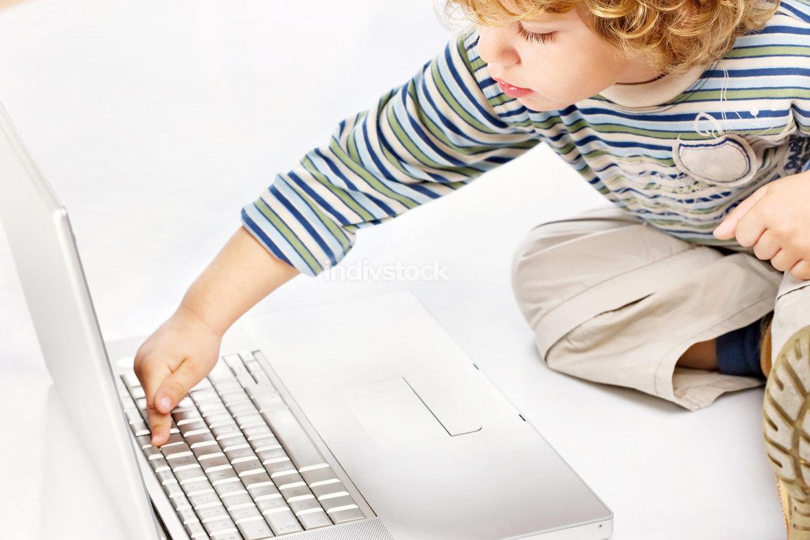 High tech child