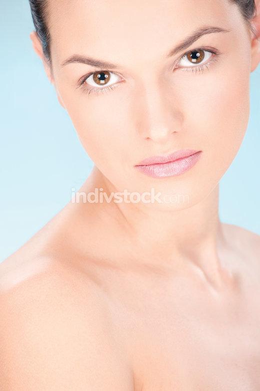 Make up woman