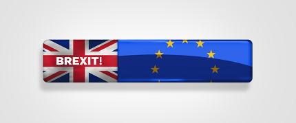 Europe EU Flag button icon isolated design