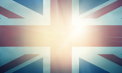 UK modern mix retro vintage colored creative background