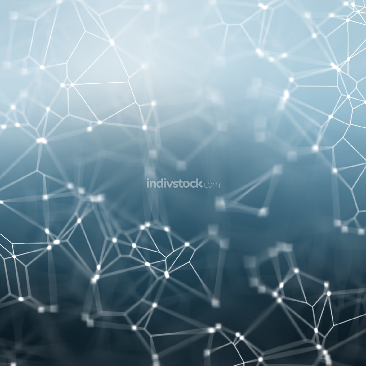 blue abstract network background