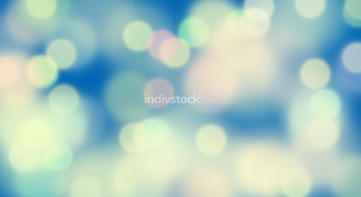bukeh blue sky colored background graphic