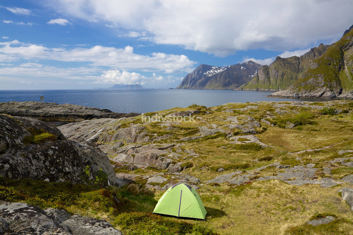 Camping on Lofoten
