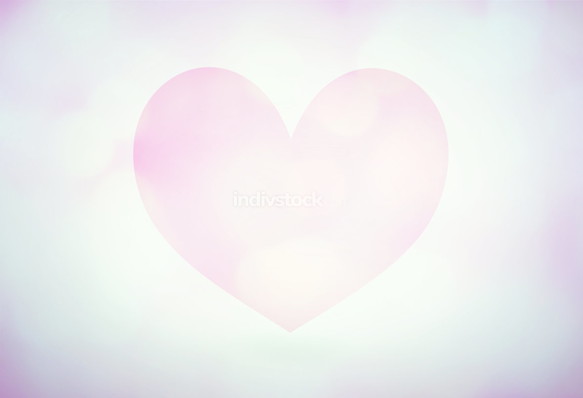 creative big heart background graphic design image
