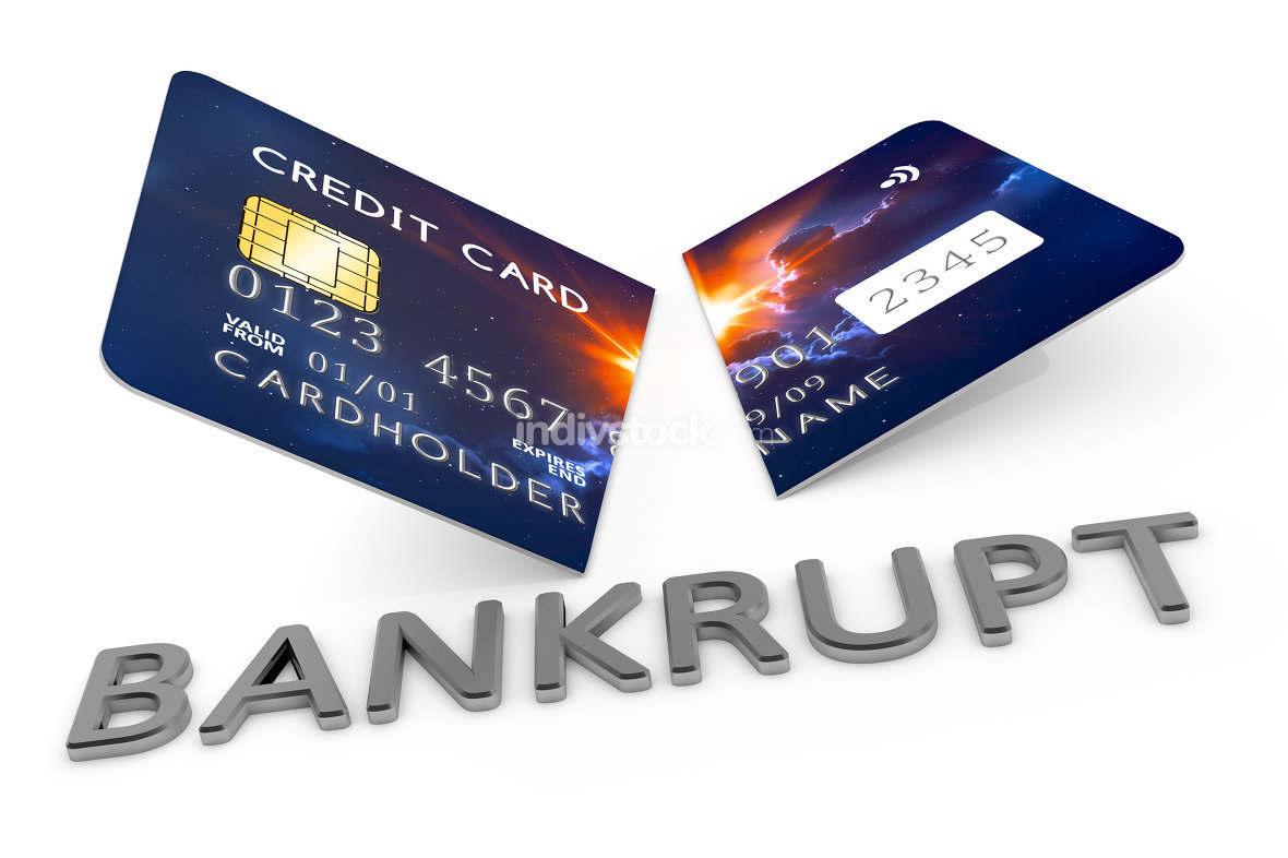 cut credit card bankrupt