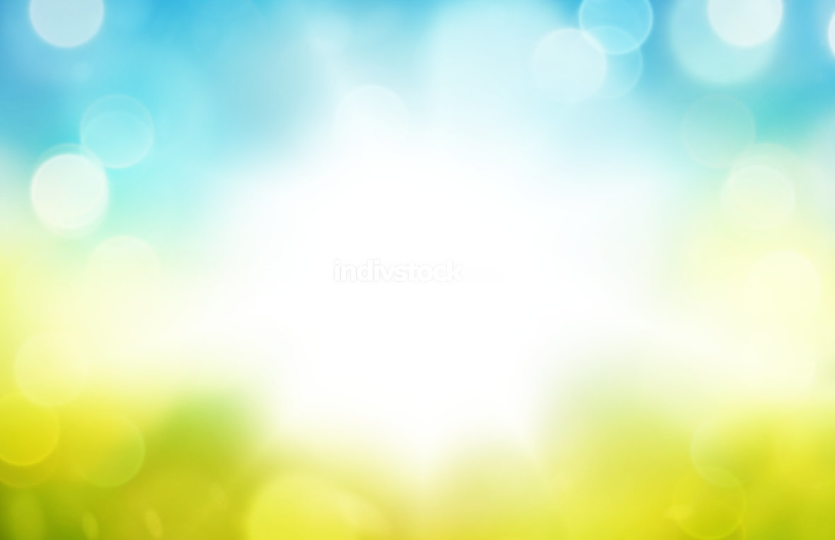 Defocused blurred bokeh shiny highlight background