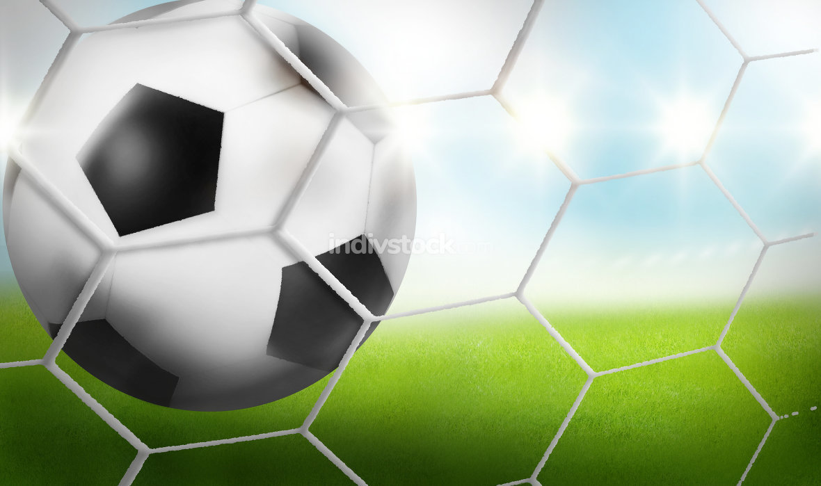 free download: Goal - Football Background Ball 3D Design graphic design