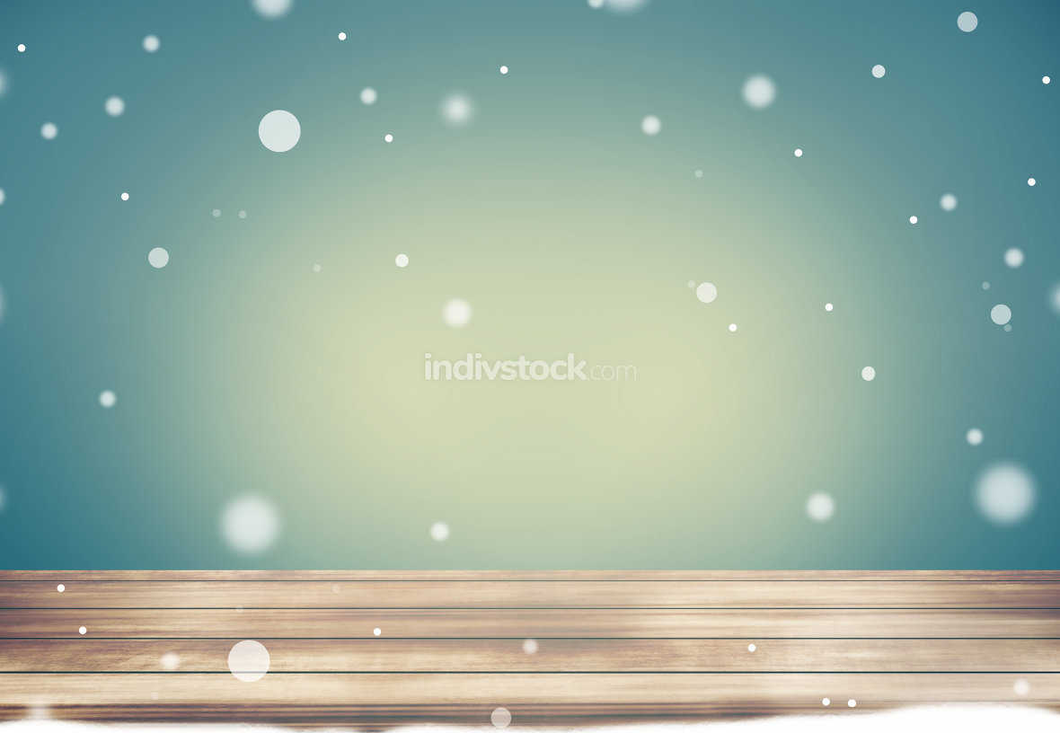 free download: winter time retro modern mix snowflakes background
