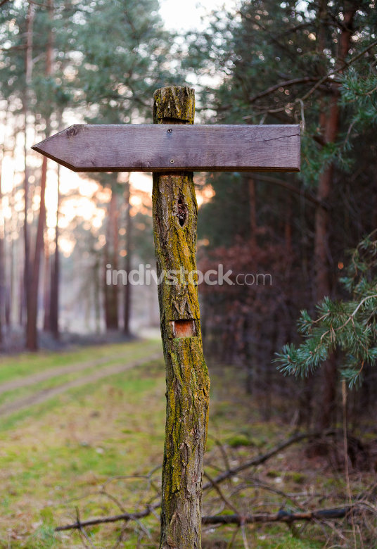 german signpost path