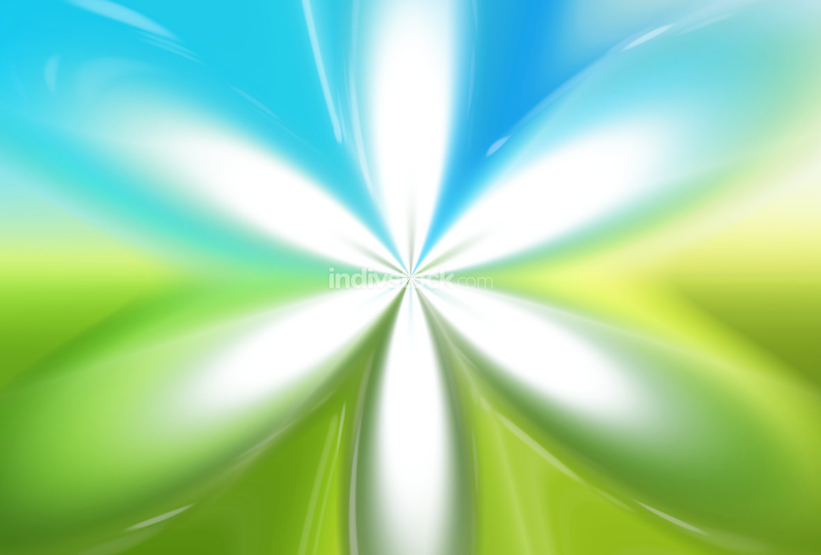green ligh blue background nature friendly concept
