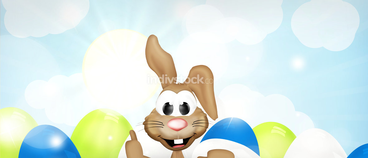 Happy Easter thumbs up