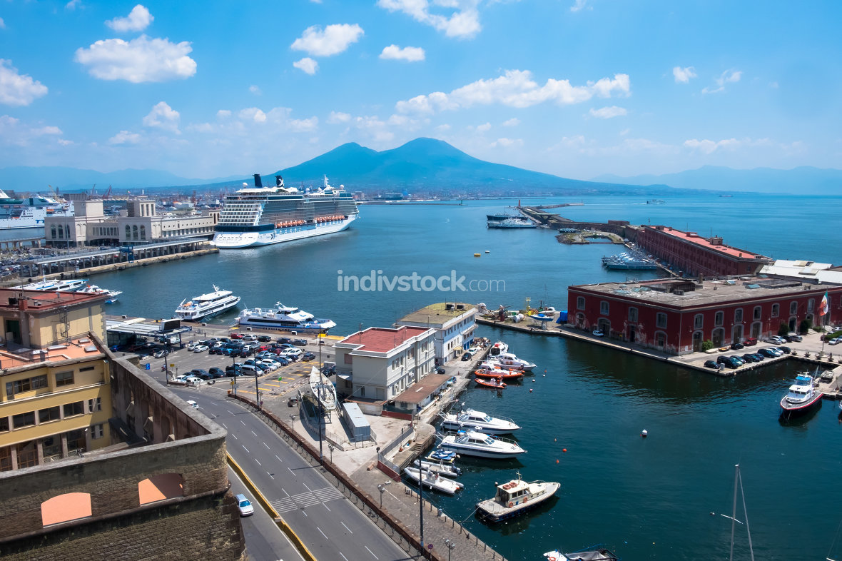 Naples,landscape, Italy