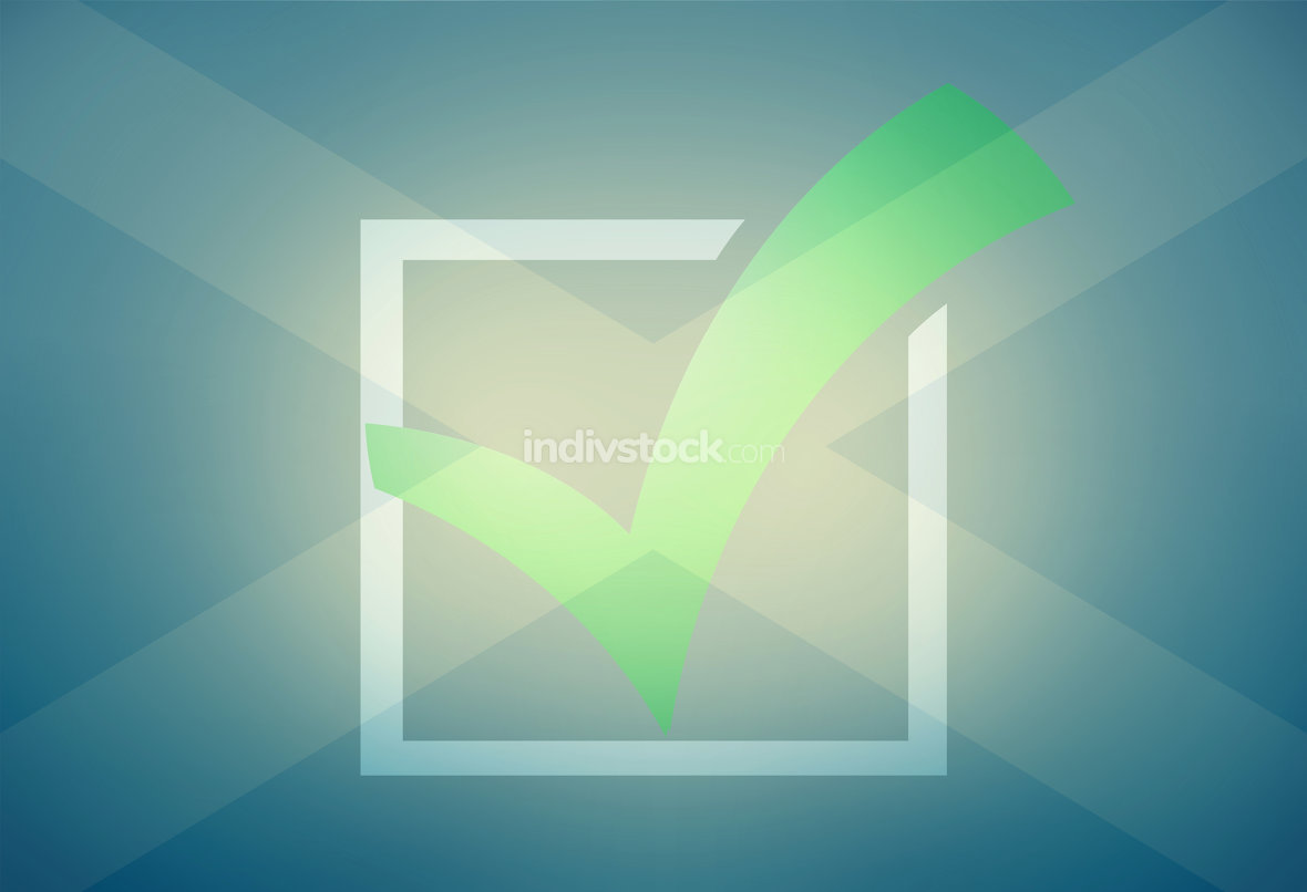 Scotland Flag abstract Background tick check