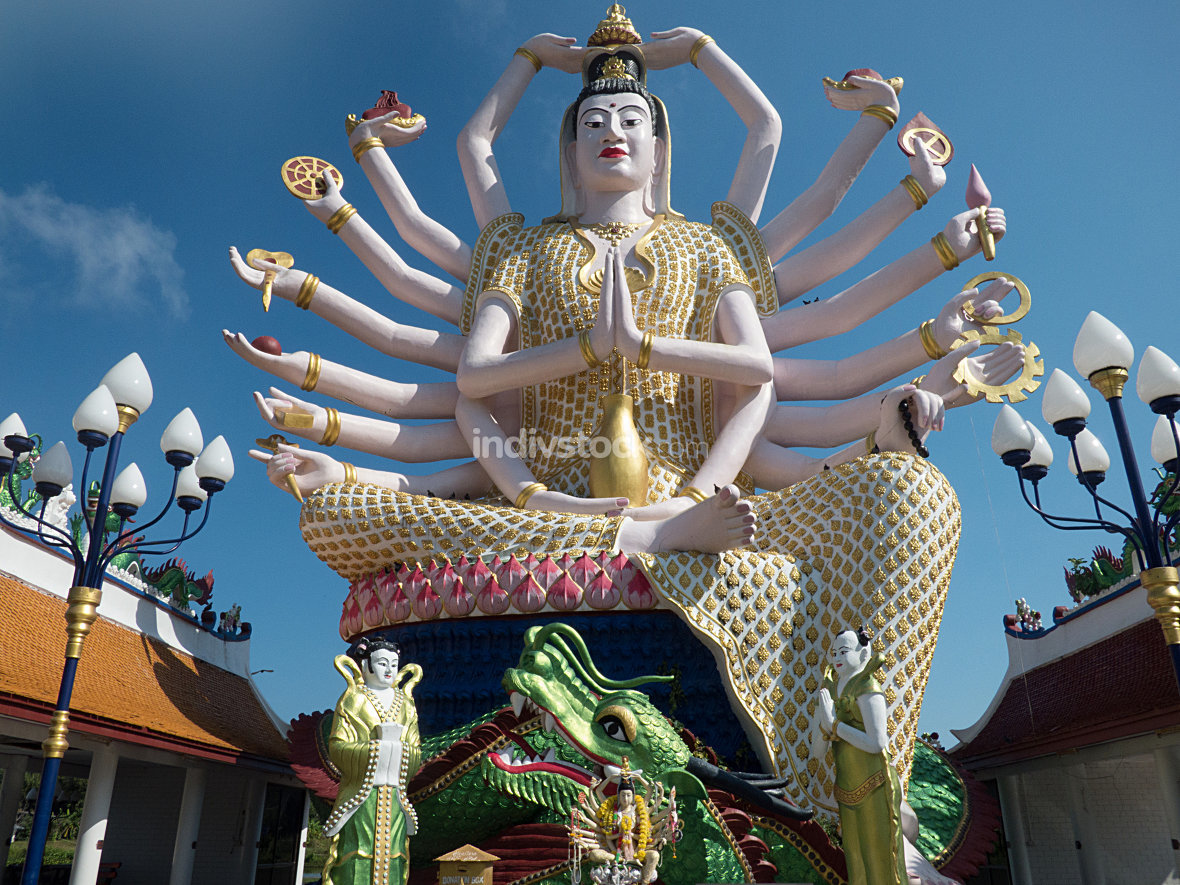 Statue of Guanyin December 2015 Thailand