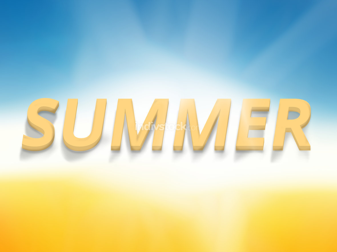 summer time background friendly new colors bold font