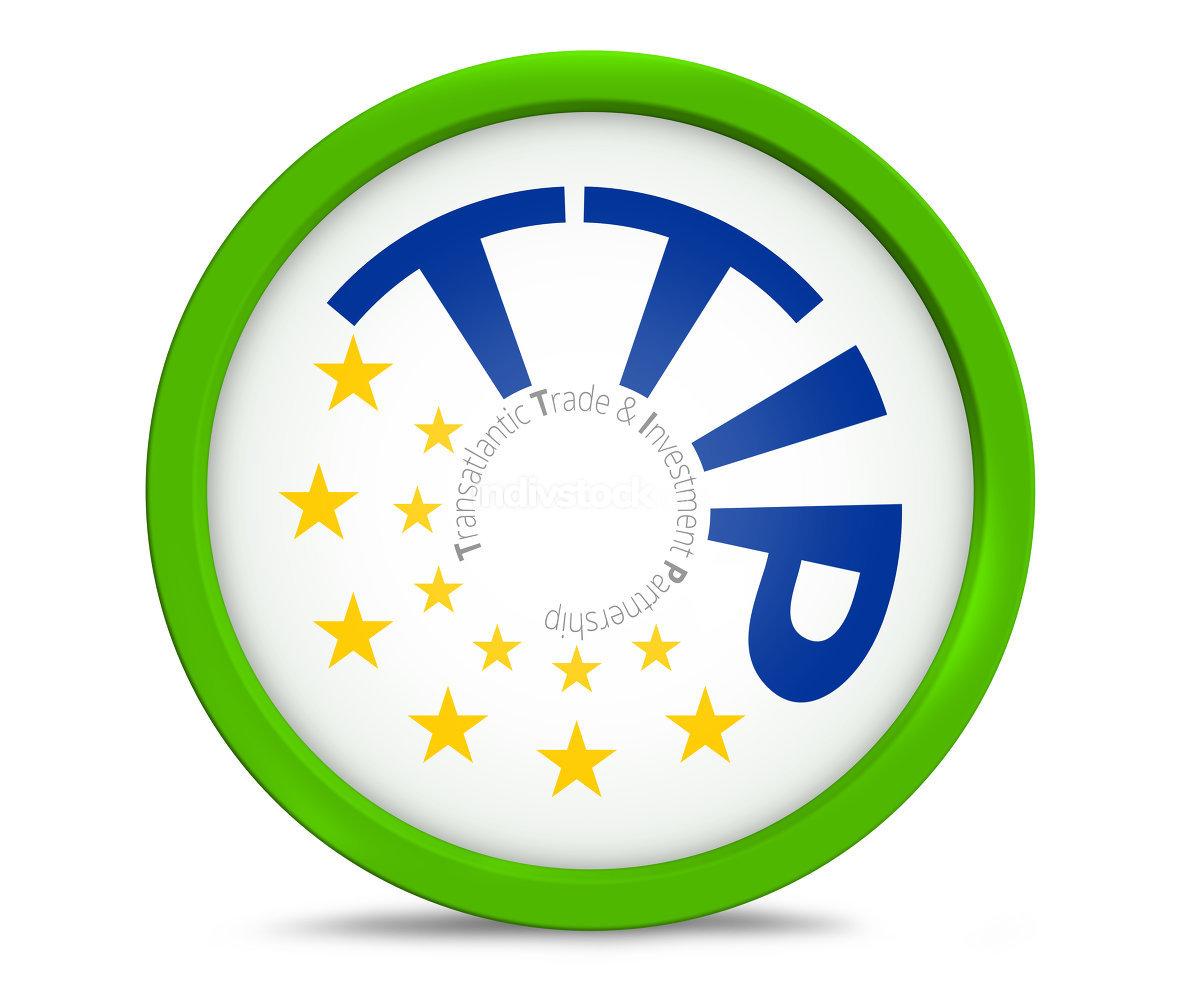 TTIP Transatlantic Trade and Investment Partnership symbol