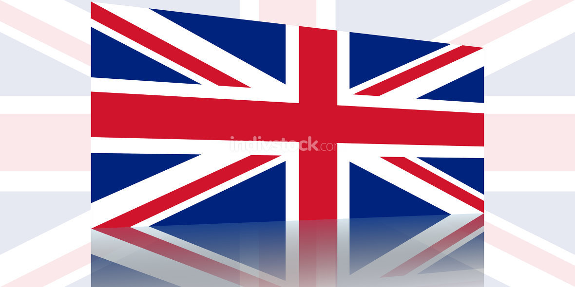 United Kingdom Flag Background Illustration Graphic design image