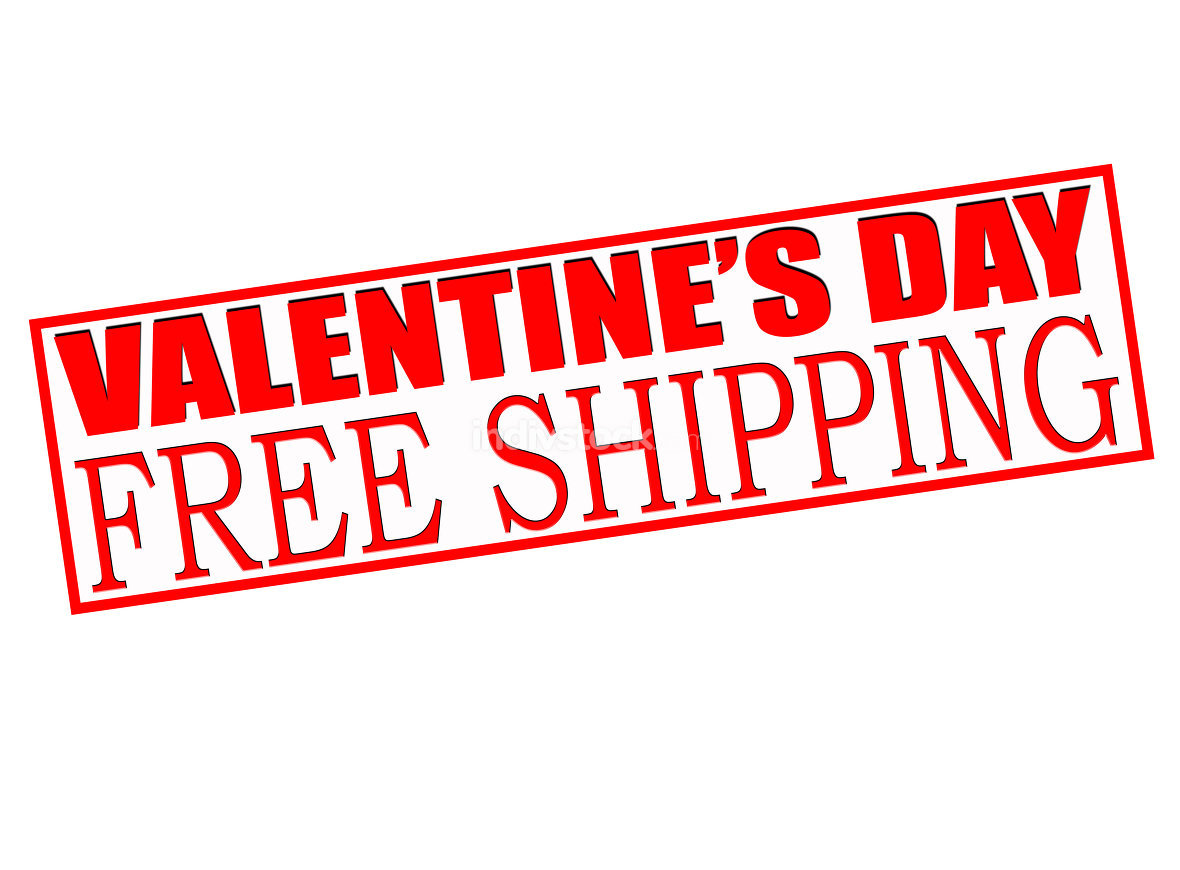 Valentine day sale free shipping