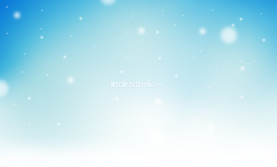 winter ice frozen design light blue