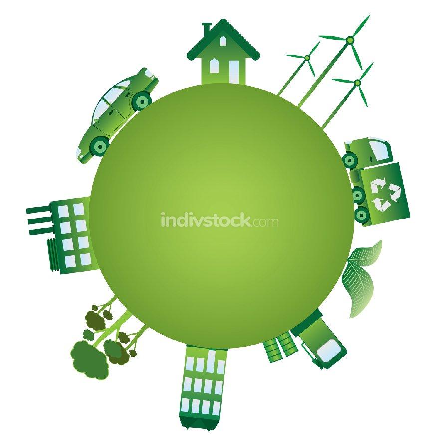 The green world.