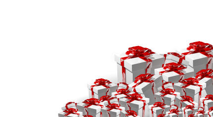 3d render gift box