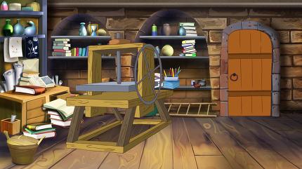 Basement shelves. Image 2