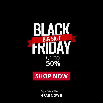 black friday sale font