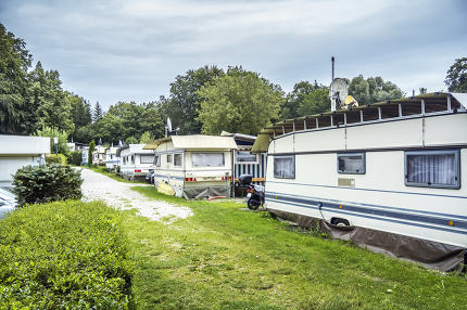 campsite at Starnberg Lake