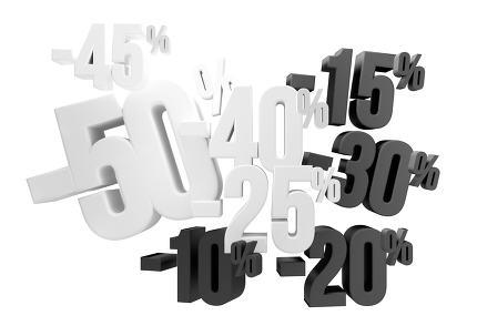 free download: 50% 45% 40% 30% 20% 15% 10% sale 3d render