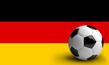 Germany Football soccer sports realistic 3D render