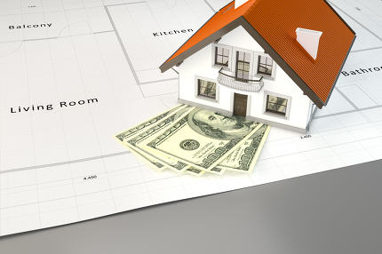planning to build a house with money