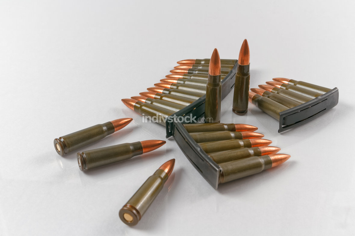 7.62x39 calibre target shooting rifle cartridges