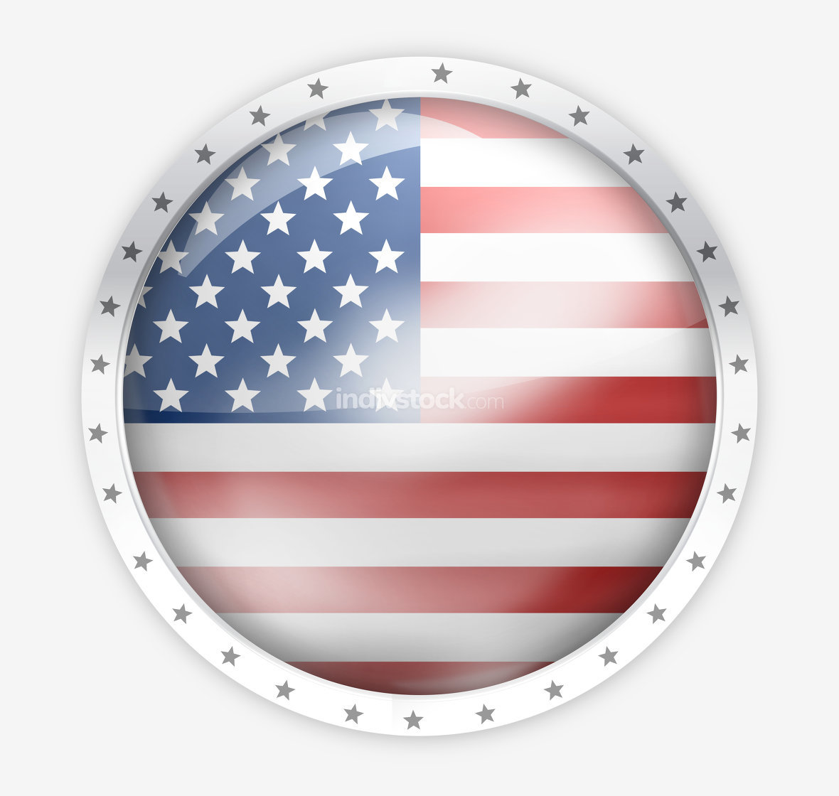 America round opacity button icon 3d render graphic isolated