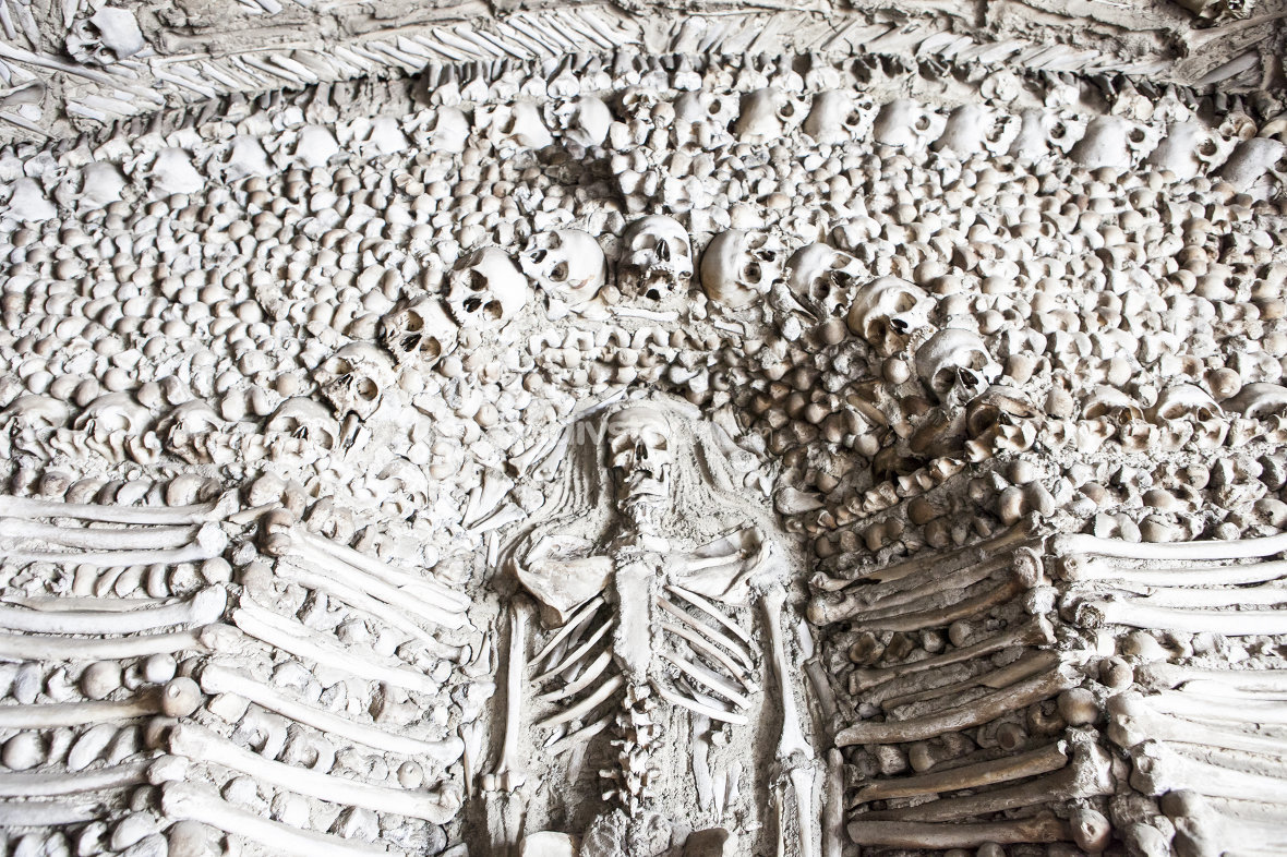 Chapel of human bones of Campo Maior, Portugal