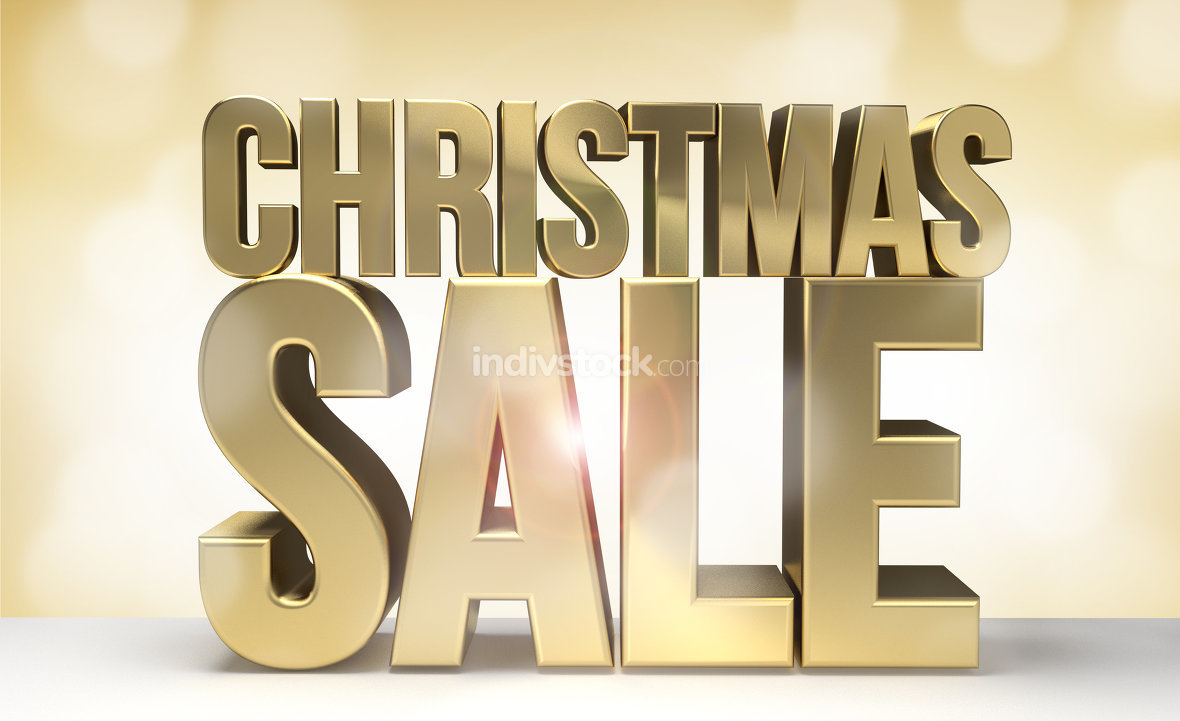 christmas sale 3d render sale for christmas