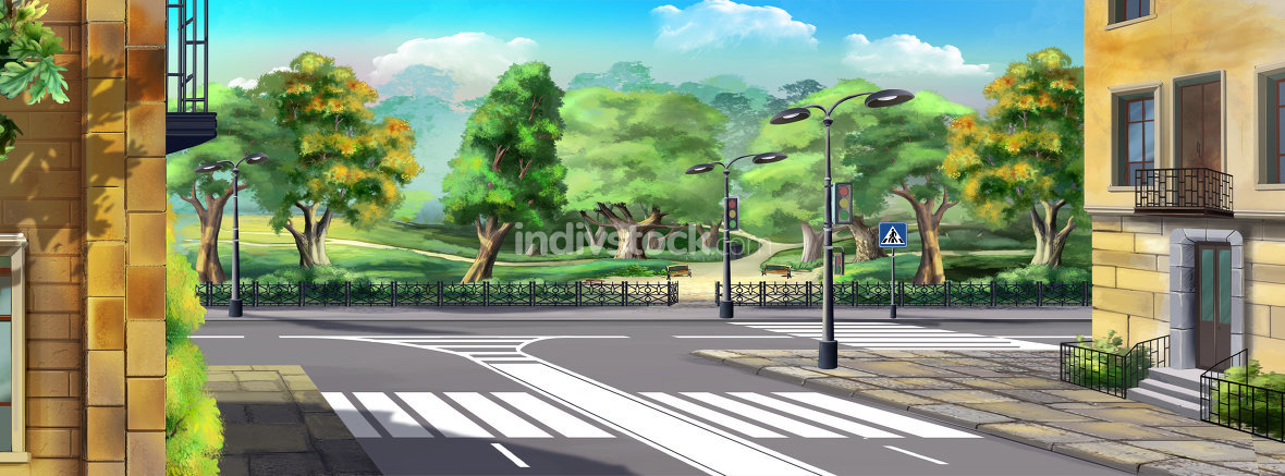 Crosswalk Panorama
