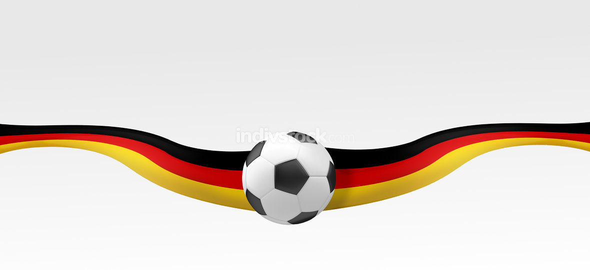 Flag of Germany black red golden yellow