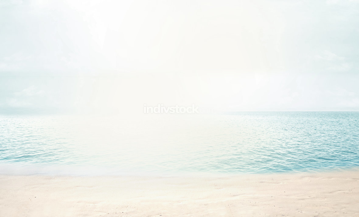 free download: beach. sunny beach ocean modifed photo 3d render