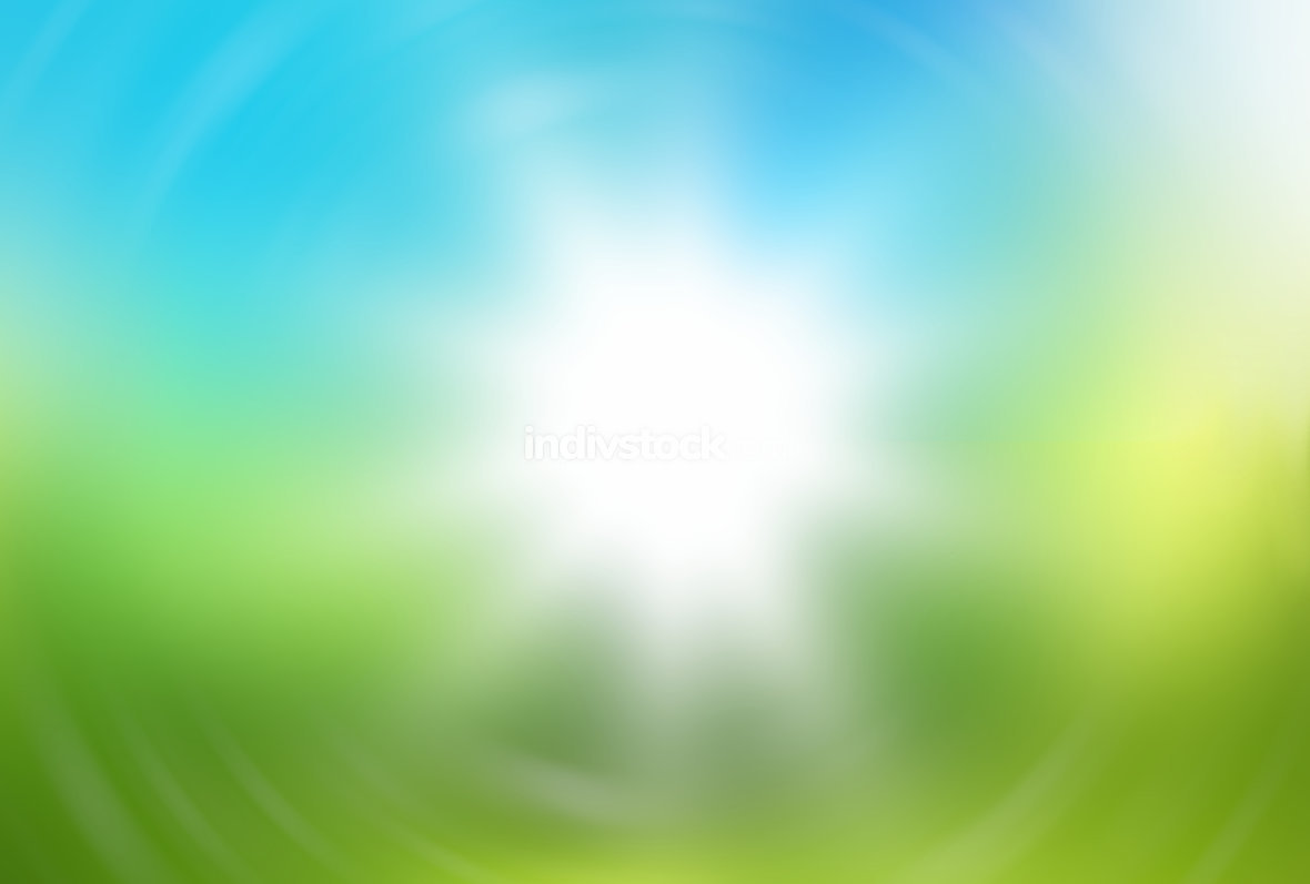 free download: blurred sun nature spring background