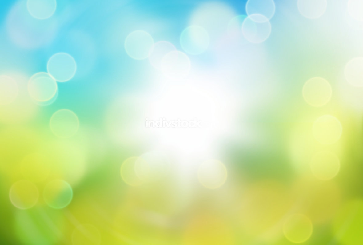 free download: bokeh blurred sun nature spring background