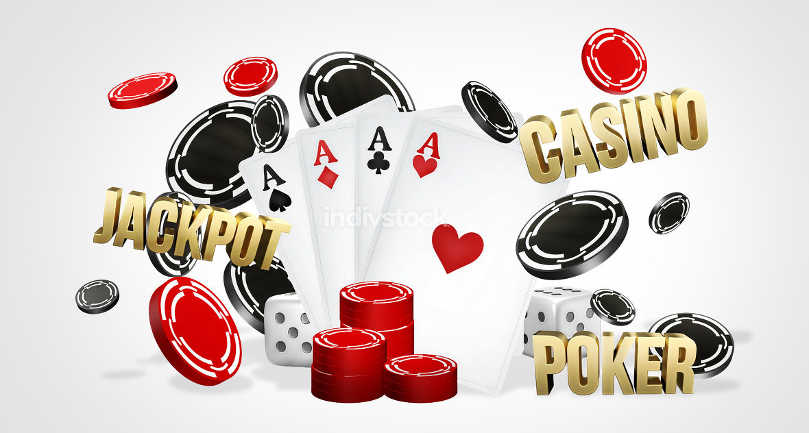 free download: casino theme. Poker cards. gambling poker 3d render