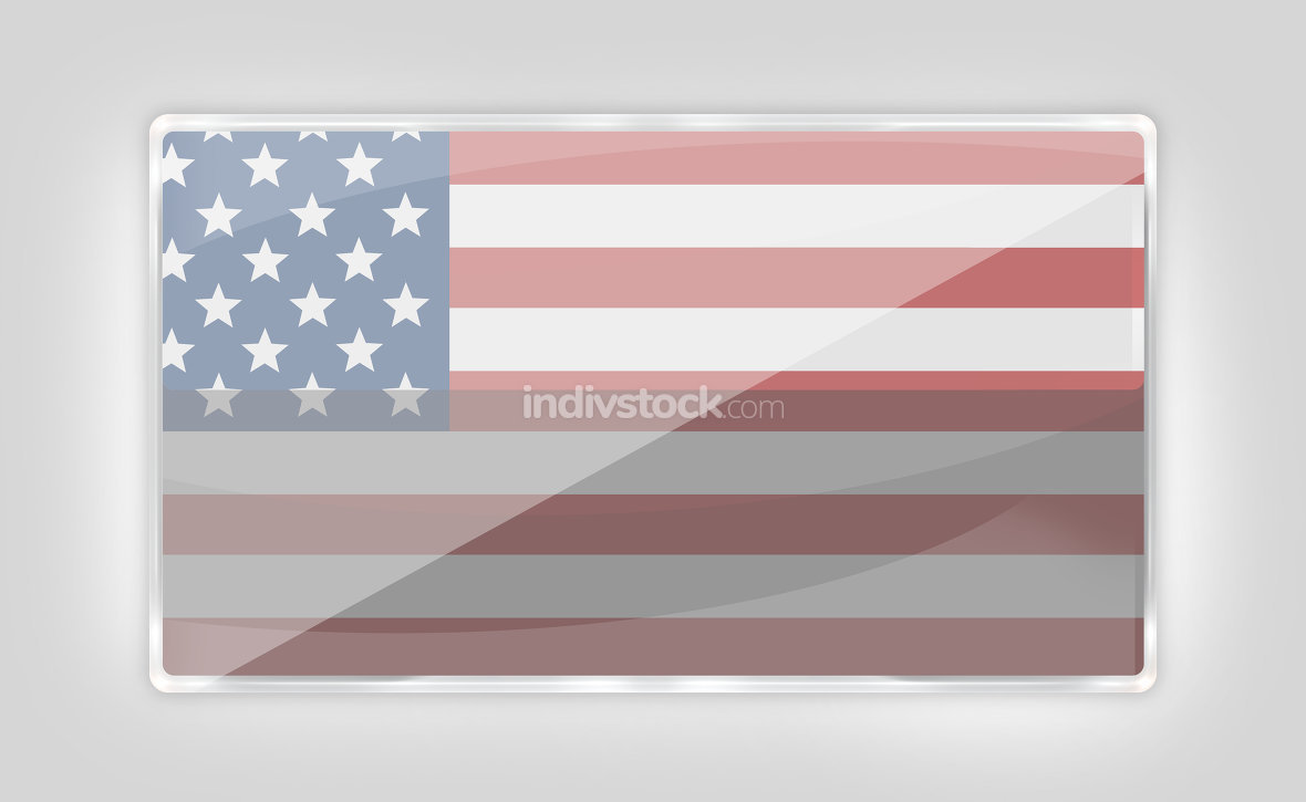 free download: creative modern icon button america style transparency