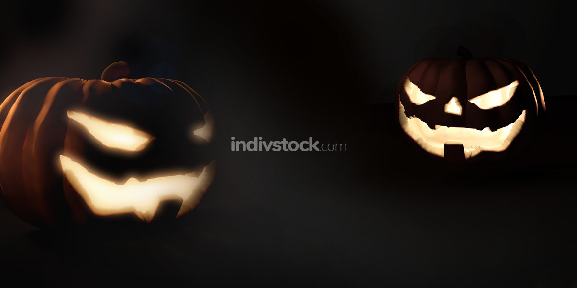 free download: halloween pumpkin. 3d render halloween pumpkins